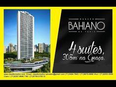 Imóveis à venda em Salvador, Apartamentos, Lotes,Terrenos, Casas - Lançamentos para Venda - Salvador / BA no bairro Mansao Baiano de Tenis Moura Dubeux, 4 dormitórios, 6 banheiros, 4 suítes, 4 garagens, área total 385, área construída 365