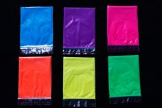New Fluorscent paint pigments available here at paintwithpearl.com!
