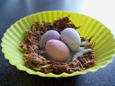 easy Easter nests