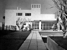 Max Cetto y Luis Barragán: casa en Av. de las Fuentes 130, Jardines del Pedregal, México D.F., 1950