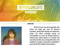 "Check out new work on my @Behance portfolio: ""Layout de um site para Portfólio."" http://be.net/gallery/58886235/Layout-de-um-site-para-Portfolio"