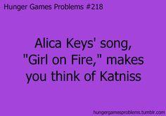 Girl on Fire ... Hunger Games Problems @Megan Swan @Kaya Piro-Stoute @Caroline Takaki
