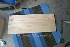 How to Build a Toy Box Toy Box Plans, Wood Toys Plans, Wood Ideas, Diy Ideas, Craft Ideas, Easy Woodworking Projects, Woodworking Plans, Farmhouse Toy Boxes, Diy Storage Trunk
