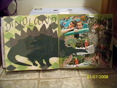 Animal Kingdom scrapbook