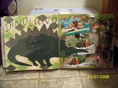 Animal Kingdom scrapbook