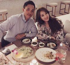 주아민, 남편과 고급 레스토랑서 데이트… 멀리서도 돋보이는 미모♥ - 이뉴스투데이