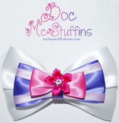Doc McStuffins Hair Bow by MickeyWaffles on Etsy, $8.00