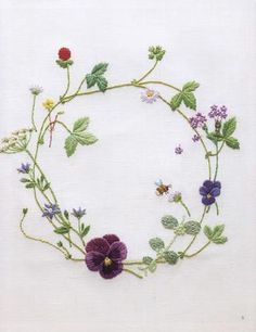 ISSUU - Embroidery four seasons gardening de vlinderieke