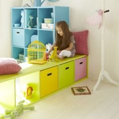 Stylish Storage Units and Totes | Childrens Playroom Furniture & Storage Solutions | ASPACE