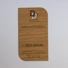 Choose your favorite Dex Druk Business Card: ANIGRE. info@dex-druk.pl