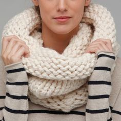 Big thick scarves