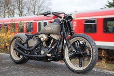 Ol'Bone HarleyCrossbones by Thunderbike Customs