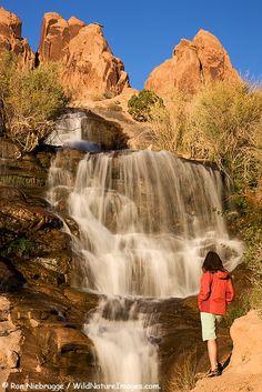 Moab Utah Waterfall Outbreak / Flash Flooding - 12/8/2019