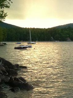 lake in Ellsworth, Maine. So beautiful and peaceful!