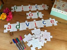 Our puzzle makes the perfect guest book alternative for your special day. Invite your guests to sign a puzzle piece and leave you with a 'piece of advice.'. What is the Community Puzzle? It's a blank,