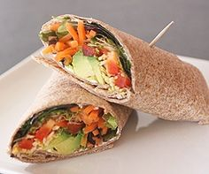 California Veggie Wrap Recipe