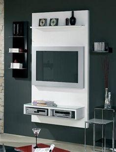 Tv units tv wall unit modern design x 8 3d model by - Como hacer un mueble para tv ...
