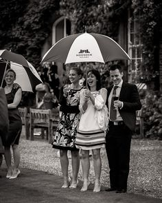 Wet weddings at Hodsock Proiry by Andrew Fletcher