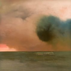 Christopher Saunders - Solid Air - oil on linen