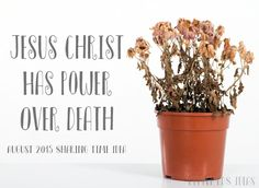 Latter-Day Chatter and Little LDS Ideas: Jesus Christ has power over death {August Sharing Time WK 3}  #LDS #Resurrection #JesusChrist #Savior #SharingTime