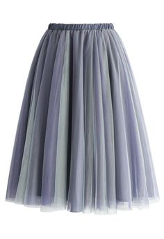 Amore Mesh Tulle Skirt in Purple - New Arrivals - Retro, Indie and Unique Fashion