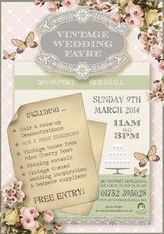 wedding fayre poster - Google Search