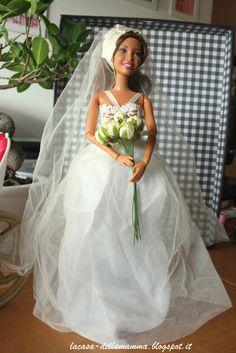 Abito da sposa per Barbie
