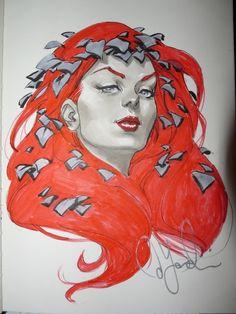 Poison Ivy by David Yardin