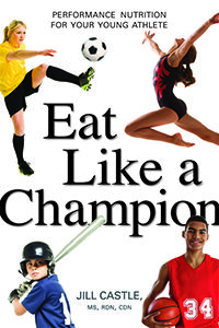 NEW sports nutrition book for young athletes--available July 2015 and you can pre-order here: http://www.amazon.com/Eat-Like-Champion-Performance-Nutrition/dp/0814436226/ref=sr_1_1?ie=UTF8&qid=1423267807&sr=8-1&keywords=eat+like+a+champion