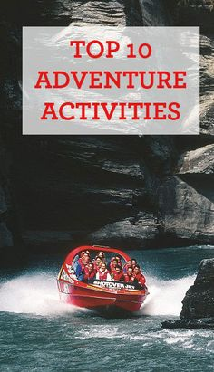 Chasing your next adrenaline rush? These are the top 10 adventure experiences in NZ. New Zealand Adventure, New Zealand Travel, Adventurous Things To Do, Cold Treatment, Self Massage, Bungee Jumping, Adventure Activities, Fitness Gifts, Cold Meals