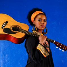 Bulelwa Mkutukana (aka Zahara) is an Afro-soul singer, song writer and poet from a small village called Phumlani outside East London in the Eastern Cape. She sings in isiXhosa and English and performs with an acoustic guitar.