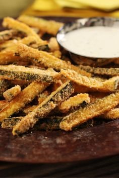 Baked Panko Coated Zucchini Fries – Try this twist on fries with all the crisp and none of the mess from frying! You'll need zucchini, panko coating mix, and a baking pan to get started on this side-dish recipe.
