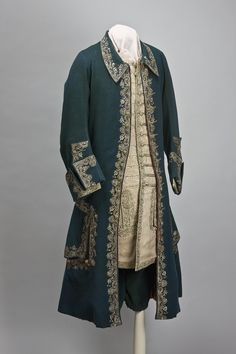 1715-1720s Official Dress of Peter the Great: coat (Western Europe)  (Hermitage Museum)