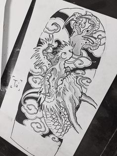 Find the perfect tattoo artist to create the work of art that is you Chinese Tattoo Designs, Japanese Tattoo Art, Marcelo Tattoo, Dragon Tattoo Art, Dragon Classes, Storm Tattoo, New Dragon, Asian Tattoos, Japan Tattoo