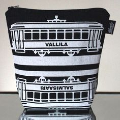 Tram -meikkillaukku (Vallila) #MakersAndDoers #inspiration #fashion