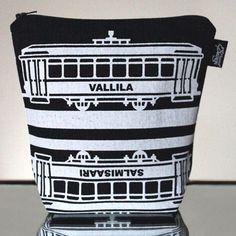 Tram -meikkillaukku (Vallila) #MakersAndDoers #inspiration #fashion