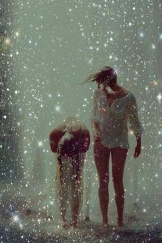 glitter rain by tammie