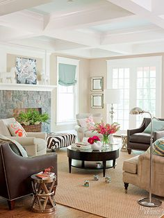 Get styling and makeover tips for your home to make a functional and stylish house! Remodeling your home or even a single room doesn't have to be a daunting task. These designer tips help you narrow in on a theme and color, choose coordinating furniture and find just the right decor that will last for years to come.