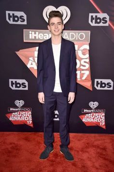 Zach Clayton at the iHeartRadio Music Awards in March 2017...