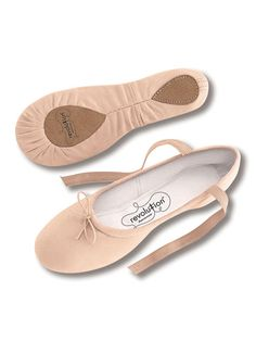 Canvas Ballet | Revolution Dancewear Ballet Shoes
