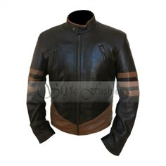 X-Men Wolverine Leather Jacket | Stylo FashionsStylo Fashions