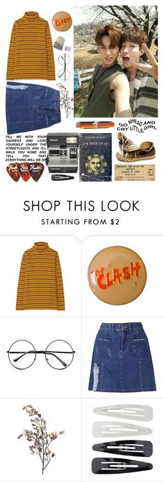 """1997 line 2/3"" by nialla ❤ liked on Polyvore featuring Uniqlo, Retrò, Pier 1 Imports, Converse, Forever 21 and Polaroid"