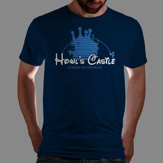 Howl's Moving Castle t-shirt - Want!