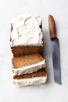 Honig-Karotten-Bananen-Brot - Honey Carrot Banana Bread Honigkarotten-Bananenbrot The post Honig-Karotten-Bananen-Brot appeared first on Rezepte. Gourmet Recipes, Baking Recipes, Sweet Recipes, Cake Recipes, Dessert Recipes, Gourmet Foods, Vegan Recipes, Lentil Recipes, Pizza Recipes
