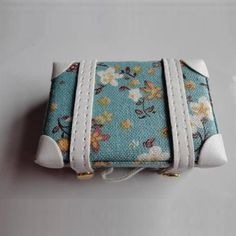 [wamami] 4# Blue Mini Vintage Traveling Case For BJD MSD AOD DOD Dollife Accessories