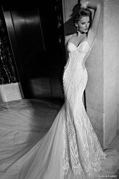 galia lahav 2015 jazz age wedding dress spagetti strap sweetheart neckline corset bodice blush ivory fit flare art deco bridal gown greta garbo 1505