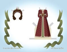 Paper dolls by Julie Allen Matthews. An African inspired angel paper doll to download and print.