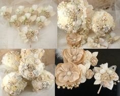 Boutonnieres  Set of 7 Groomsmen Boutonnieres and by SolBijou, $180.00