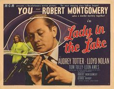 Lobby Card from the film The Lady In The Lake