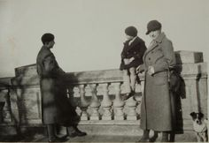 Vintage French Photograph - Enjoying the View by ChicEtChoc on Etsy